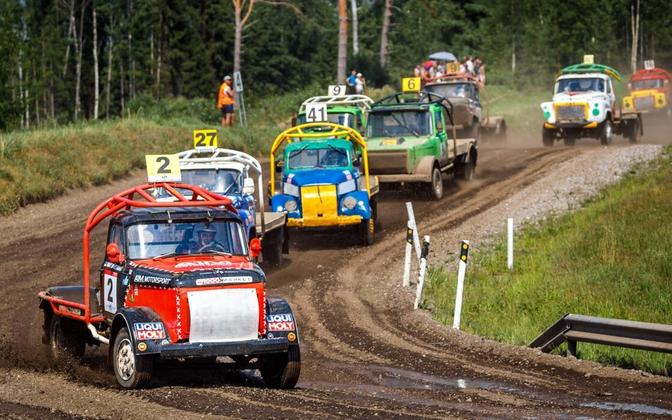 Eesti autokrossi meistrivõistlused Missos.