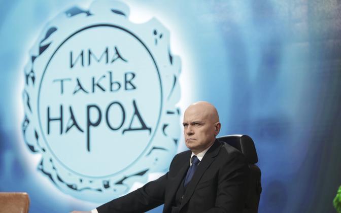 Bulgaaria eliidivastase partei On Selline Rahvas (ITN) liider Slavi Trifonov.