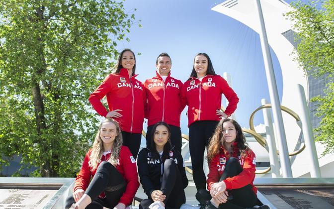 Kanada olümpiakoondise võimlejad