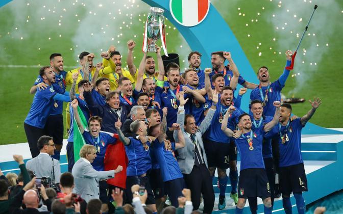 Võidukas Itaalia jalgpallikoondis