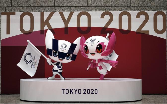 Tokyo olümpia- ja paraolümpiamängude maskotid.