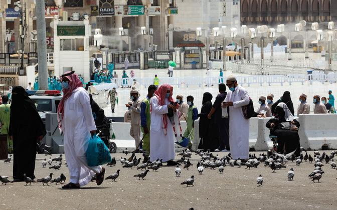 Palverändurid Meccas.