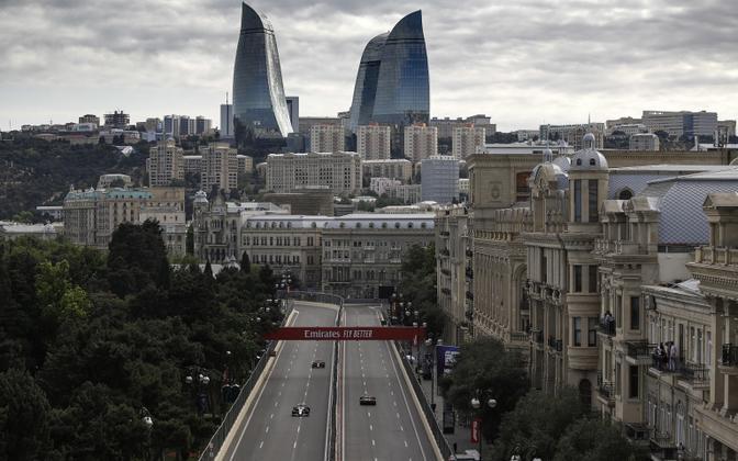 Aserbaidžaan pealinn Bakuu