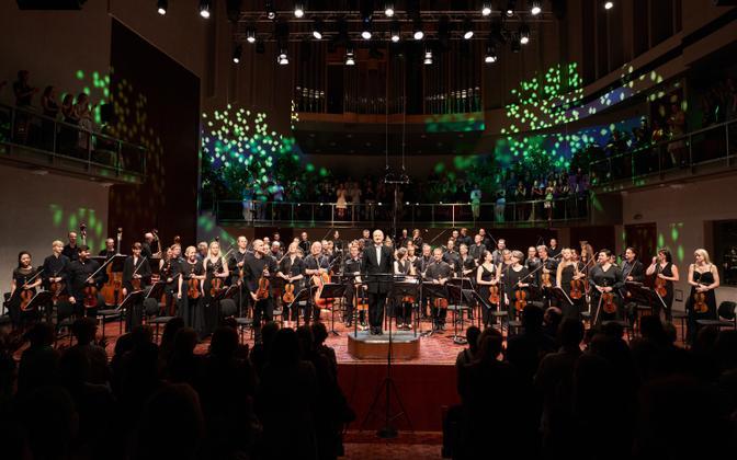 Eesti Festivaliorkester ja Paavo Järvi Pärnu Muusikafestivalil