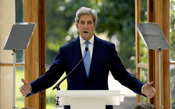 Спецпосланник президента США по климату Джон Керри.