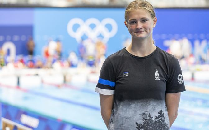 Eneli Jefimova Tokyo olümpiamängudel