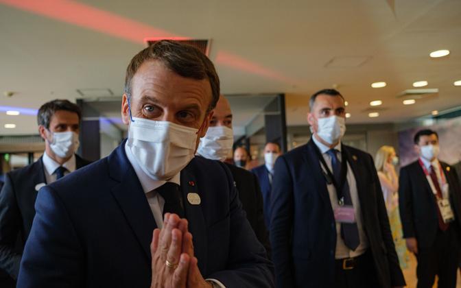Prantsusmaa president Emmanuel Macron