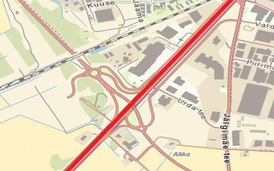 Teeremondi lõik Tallinna-Pärnu maanteel