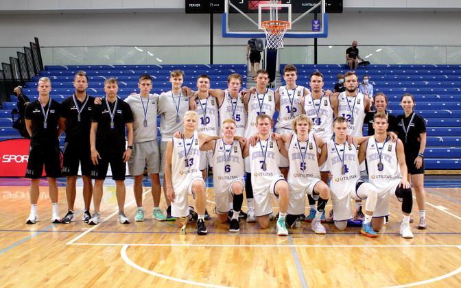 Eesti U-20 korvpallikoondis