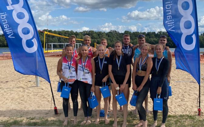 U-20 Eesti meistrivõistluste parimad.