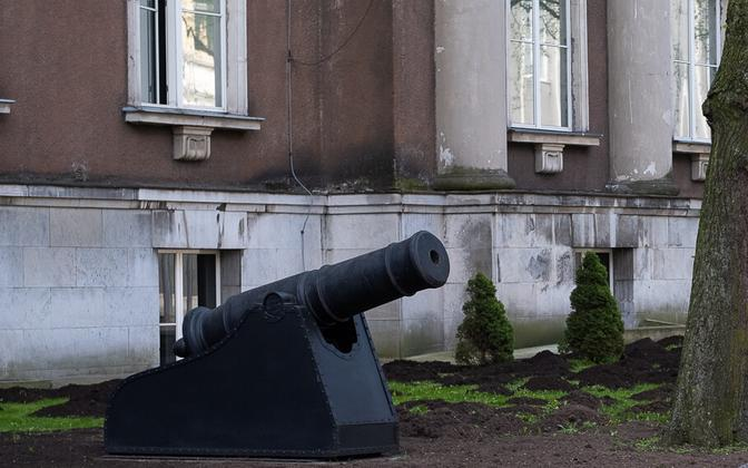 Ministry of Defense building in Tallinn.