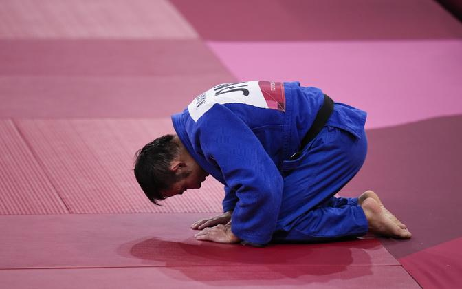 Naohisa Takato pärast võitu
