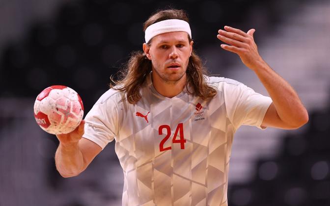 Mikkel Hansen Jaapani vastu.