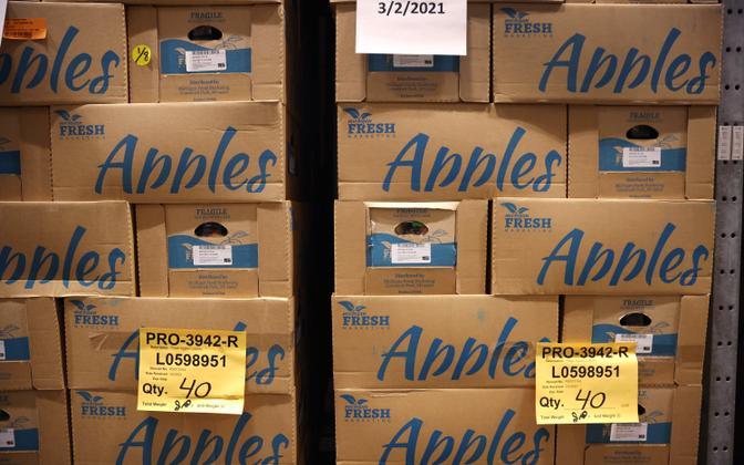 Pakendatud õunad USA-s