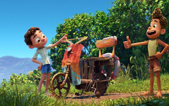 Кадр из анимационного фильма