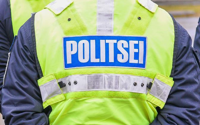 PPA officer's high-vis vest.