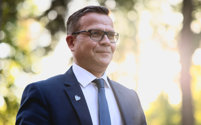 Kokoomuse esimees Petteri Orpo.