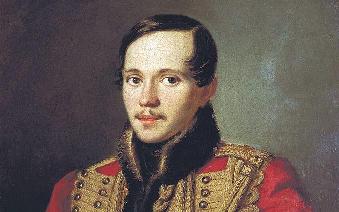 Vene luuletaja Mihhail Lermontov.