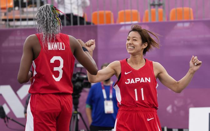 Jaapani 3x3 korvpalli naiskond