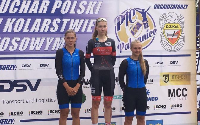 Fotol vasakult: Elina Tasane, Selma Lantsch, Kirke Reier