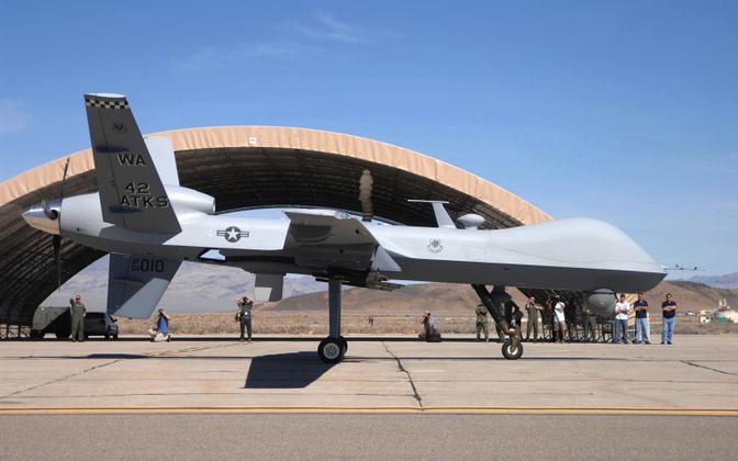 USA ründedroon MQ-9 Reaper.