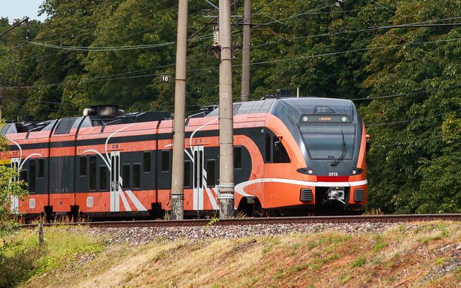 В августе произойдут изменения в расписаниях поездов Elron.