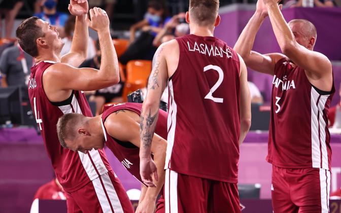 Läti 3x3 korvpallikoondis