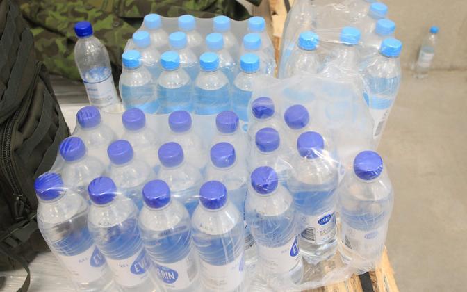 Bottled water (photo is illustrative).