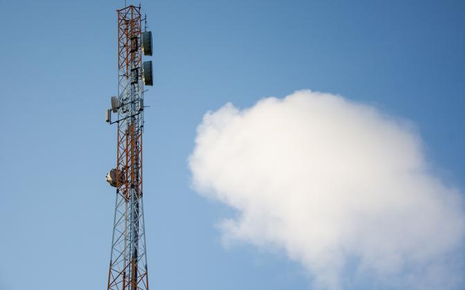 Мачта мобильной связи.