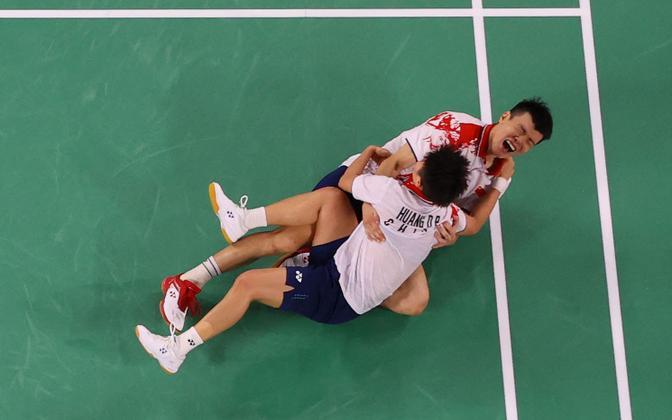 Wang Yilyu ja Huang Dongping