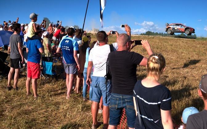 Rally Estonialt sai alguse üks koroonakolletest.