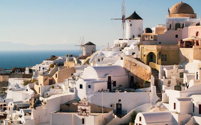 Греция. Иллюстративная фотография.
