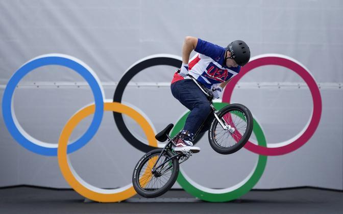 Hannah Roberts Tokyo olümpiamängudel.