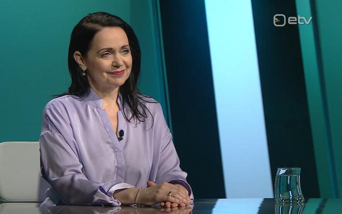 Minister of Culture Anneli Ott.