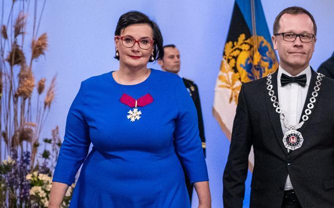 Катри Райк и Урмас Клаас.
