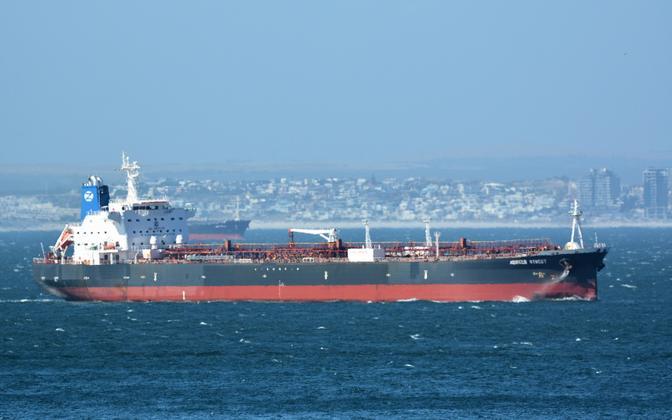 Zodiac Maritime'i naftatanker