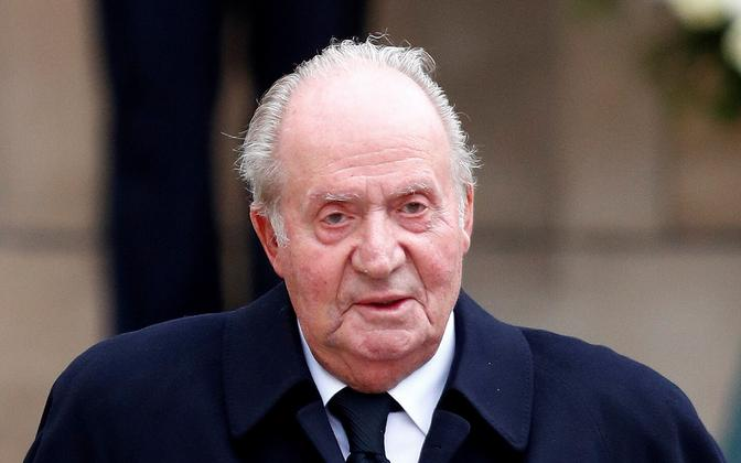 Hispaania endine kuningas Juan Carlos