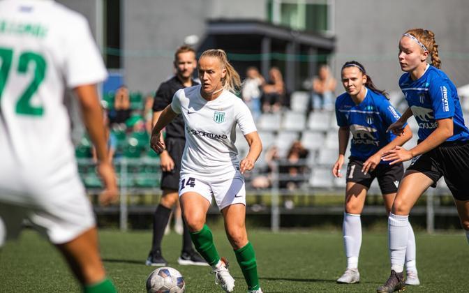 FC Flora ja Tallinna Kalevi 13. vooru kohtumine