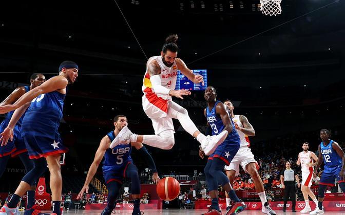 Ricky Rubio USA korvpallikoondislaste vahel