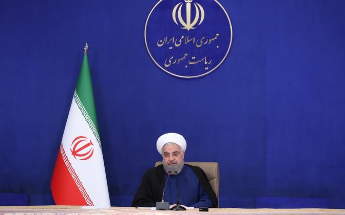 Iraani president Hassan Rouhani