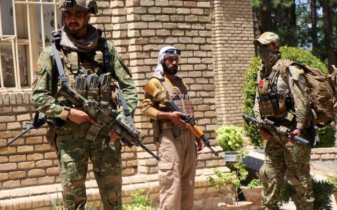 Afganistani sõjaväelased Heratis