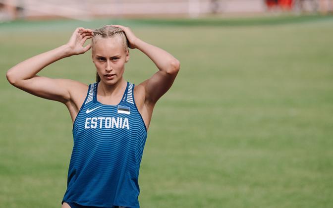 Elisabeth Pihela kergejõustiku U-20 EM-il