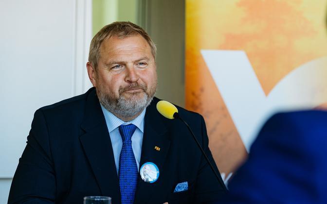 Isamaa MEP Riho Terras.