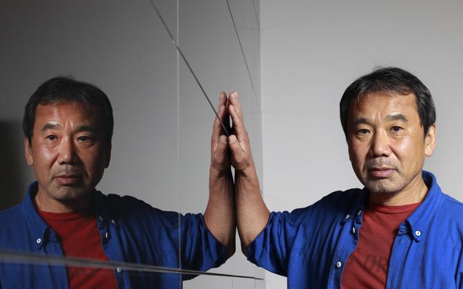 Jaapani kirjanik Haruki Murakami.