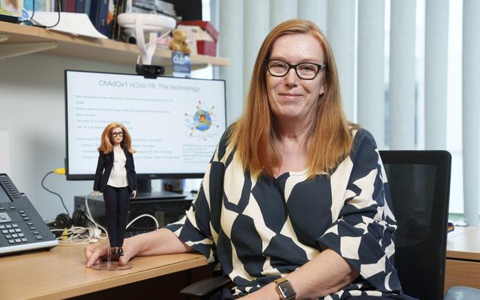 AstraZeneca koroonavaktsiini loonud teadlasest tehti Barbie-nukk