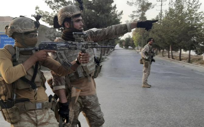 Afganistani eriväelased Helmandis