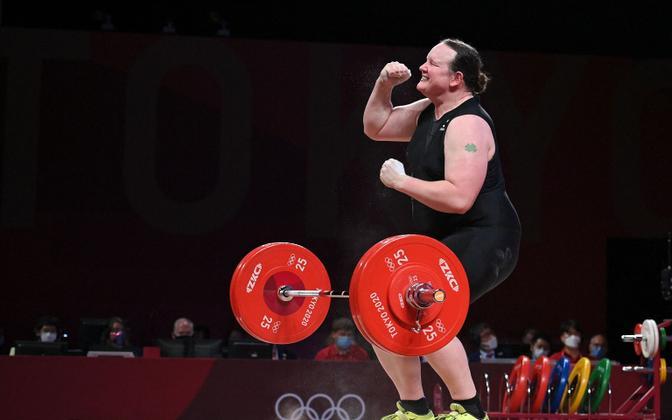 Laurel Hubbard olümpial