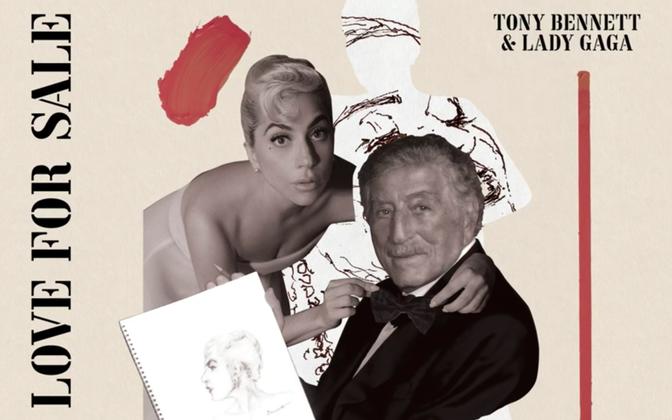 Tony Bennetti ja Lady Gaga album ilmub 1. oktoobril