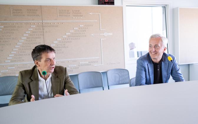Интервью Тоомаса Сильдама с Ардо Ханссоном и Индреком Нейвельтом.