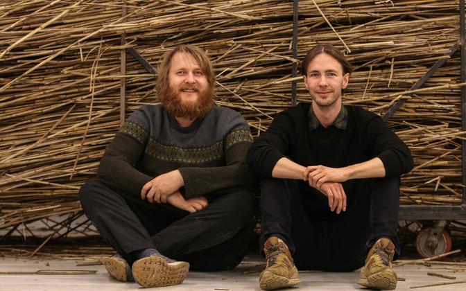 Kristjan Suits (vasakul) ja Karl Laumets.